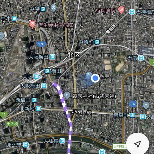 食後のウォーキング。昨日は北新地方面だったので今日はひたすら梅田から右エリアをウロウロ。路地裏面白いなぁ。天下一武道会ってなんだ??こうやってみると、明日の晩行く天満って西梅田公園から歩ける距離なんだね。とりあえず14000歩を目指してもう少し歩いてみます〜#来るときより痩せて帰る!